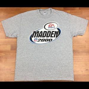 Vintage EA Sports Madden 2000 Men's Shirt Size XL